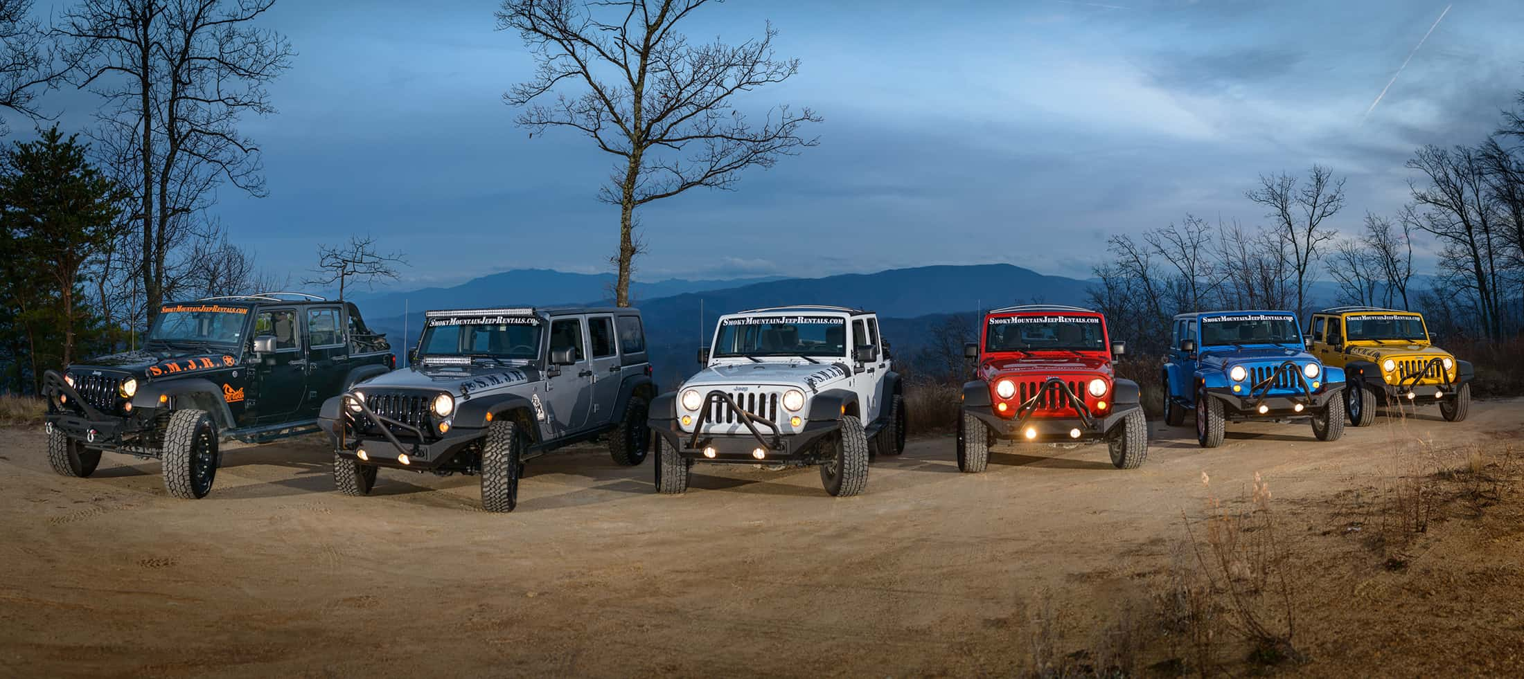 Smoky Mountain Jeep Rental