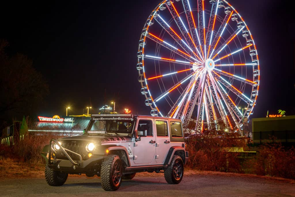 The Island Smoky Mountain Jeep Rentals Pigeon Forge Jeep Rentals